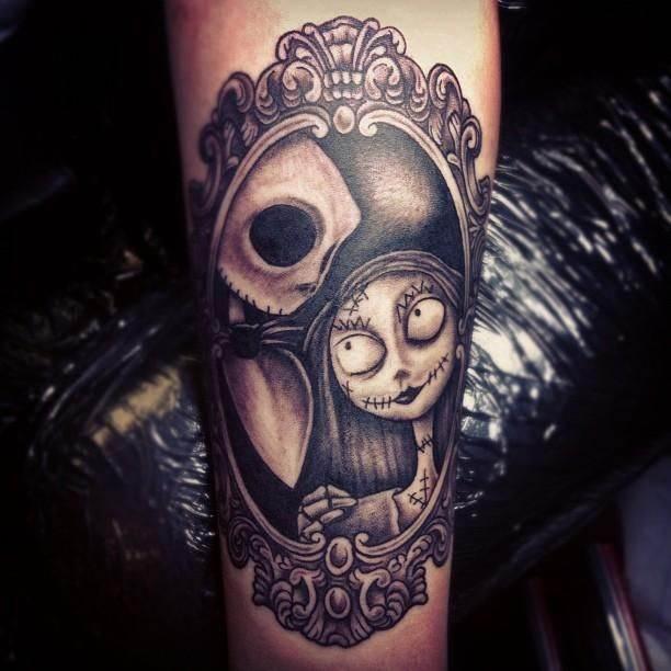 Spooky Tattoo