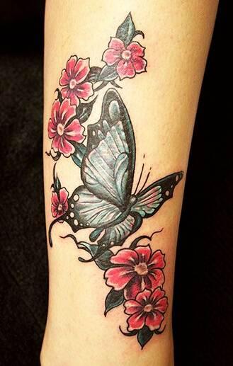Stunning Butterfly Tattoo Design
