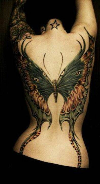 Magnificent Butterfly Tattoo