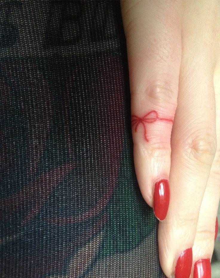 Finger Tattoo for Women