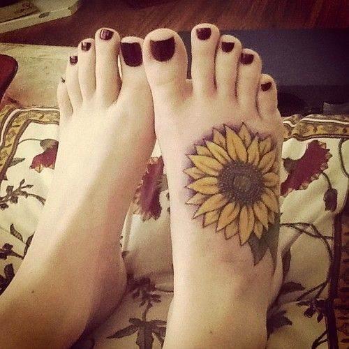 Sunfower Tattoo