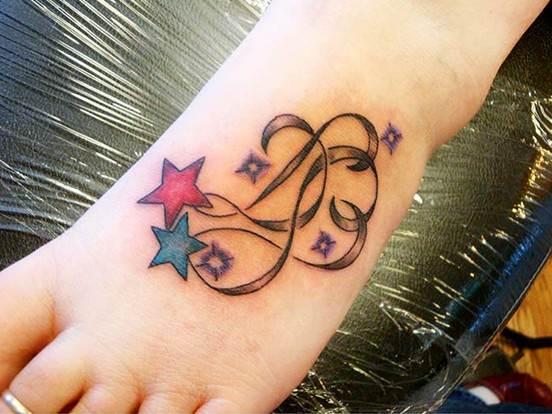Star tattoo designs: Free tattoo