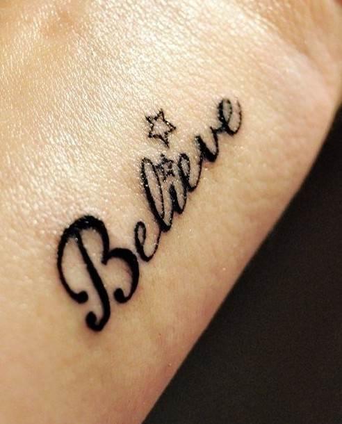 Star tattoos designs on wrist